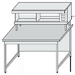 Столы лабораторные для физических  и химических исследований