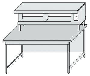 Стол лабораторный для физических исследований