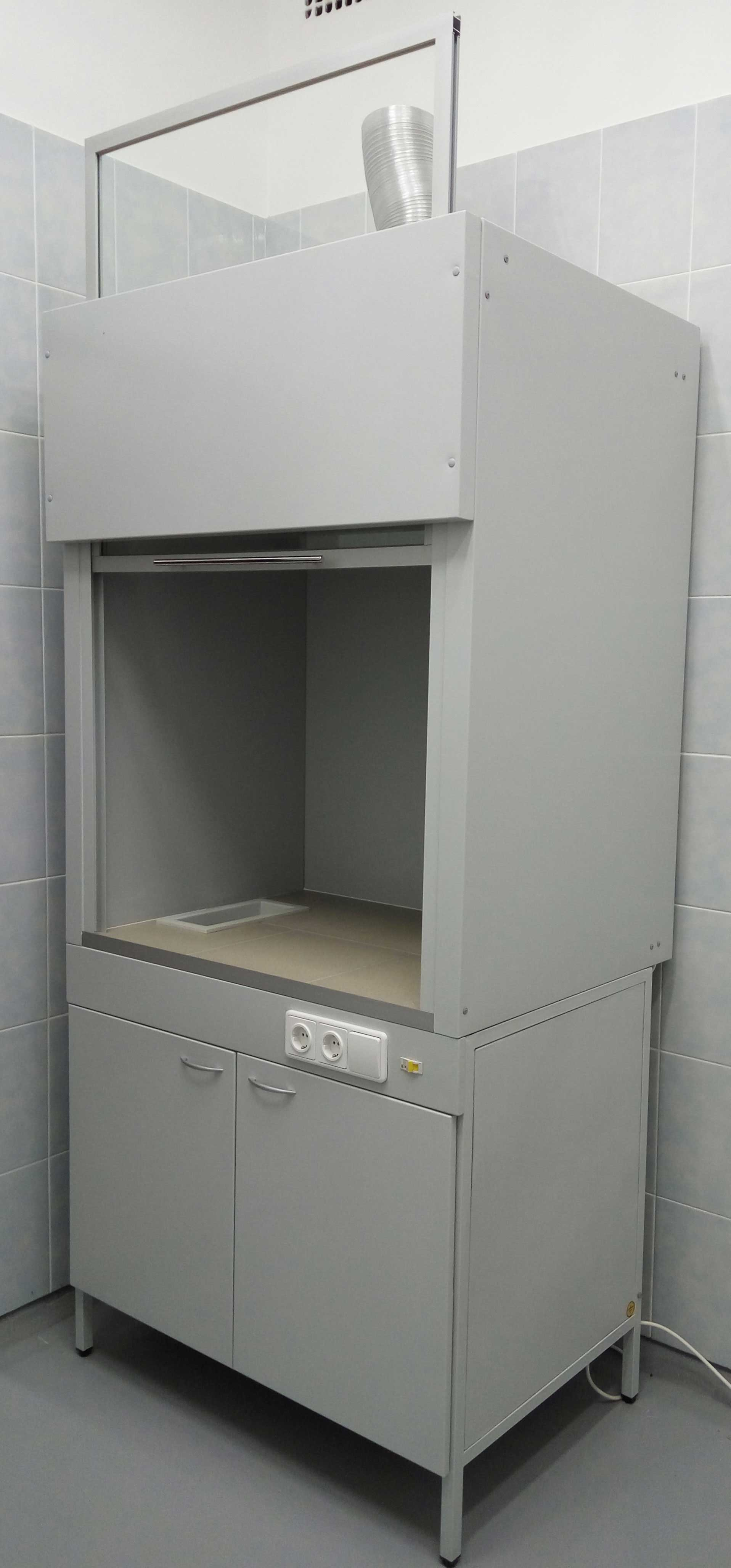 Шкаф вытяжной металлический.